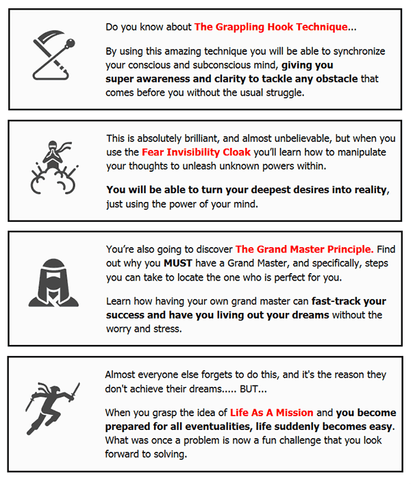 method2 The Ninja Mindset